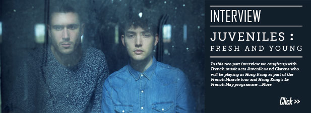 [Interview] Bringing a taste of French music to Hong Kong part 2: Juveniles