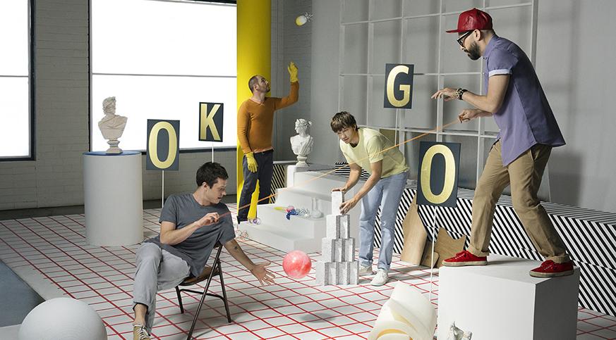 [必看] 美國樂團OK GO 5個最經典音樂錄影帶MV