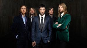 [必聽] 5首Maroon 5(魔力紅樂團)最紅的經典歌曲