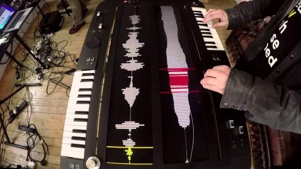 未來的電子合成器!外觀又獨特又讚的Collidoscope